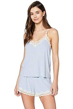 IRIS & LILLY Amazon-Marke: Damen Pyjama-Set, XXL