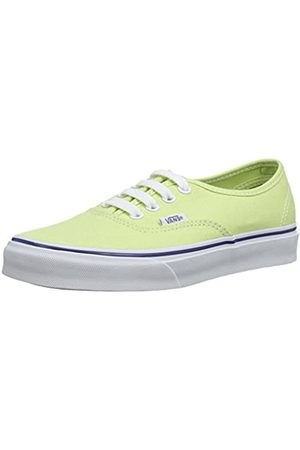 Vans Unisex-Erwachsene U Authentic Low-top, Grün (Shadow Lime/True White)