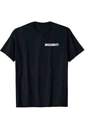 INSECURITY Teez Insecurity Bekleidungstasche Vorder- und Rückendruck T-Shirt
