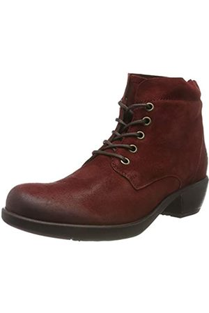 Fly London MESU780FLY, Damen Kurzschaft Stiefel, (Red 024)