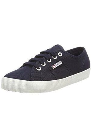Superga Unisex-Kinder 2750-cotbumpj Sneaker, (Navy-Offwhite)