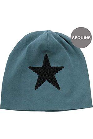 Green Cotton Jungen Star solid Beanie Mütze