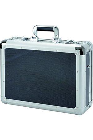 Alumaxx Laptop-Attachékoffer C-1, aus Aluminium, ca. 45,5 x 35 x 15,5 cm, in Carbon-Look Laptop Rollkoffer