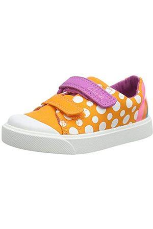 Clarks Unisex-Kinder City Bright T Sneaker, ( Combi Combi)