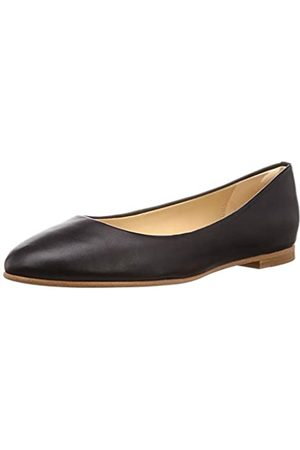 Clarks Damen Grace Piper Geschlossene Ballerinas, (Black Leather)