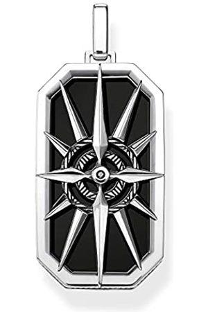 Thomas Sabo Unisex-Anhänger Kompass Stern 925 Sterlingsilber PE869-641-11
