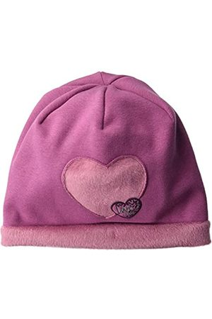maximo Mädchen Beanie aus Jersey mit Herzmotiv Mütze