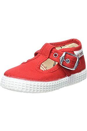 victoria Unisex Baby 1915 Hebilla Lona Sneaker, (Rojo 40)