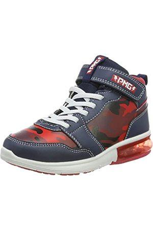 Primigi Jungen PBG 44625 Hohe Sneaker, (Navy/Rosso 4462511)