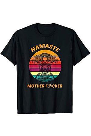 Yoga Geschenk & Shirt Co. Yoga Shirt Lustig Frauen Geschenk Namaste Mother Fucker T-Shirt