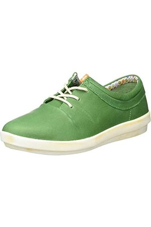 softinos Damen CASY561SOF Sneaker, (Green 005)