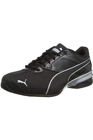 Puma Herren Tazon 6 FM Sneaker, Black Silver