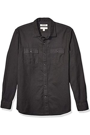 Goodthreads Amazon-Marke: Herrenhemd, Langarm, kariert, aus Twill, schmale Passform