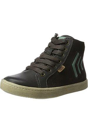 Bisgaard Unisex-Kinder Schnürschuhe Hohe Sneaker, (425-1 Antracit)