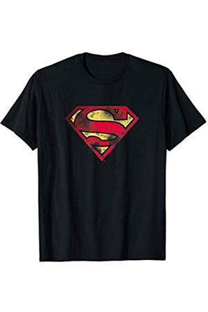 DC Superman War Torn Logo T Shirt