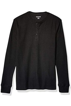 Amazon Slim-Fit Long-Sleeve Waffle Henley-Shirts