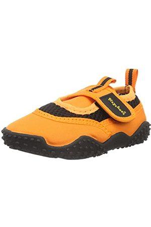 Playshoes Badeschuhe Neonfarben mit höchstem UV-Schutz nach Standard 801 174796, Unisex-Kinder Aqua Schuhe, ( 39)