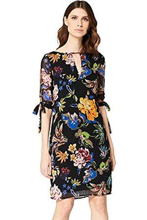 TRUTH & FABLE Amazon-Marke: Damen Midi-Chiffon-Kleid, 32