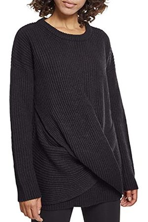 Urban classics Damen Ladies Wrapped Sweater Sweatshirt