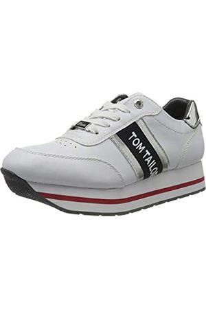 TOM TAILOR Damen 8095505 Sneaker, (White 00002)