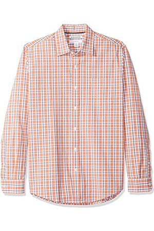 Amazon Herrenhemd, schmale Passform, langärmlig, Popeline