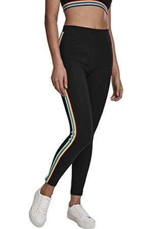 Urban classics Damen Ladies Multicolor Side Taped Leggings
