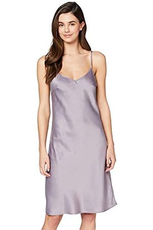 IRIS & LILLY Amazon-Marke: Damen Satin-Negligé, L