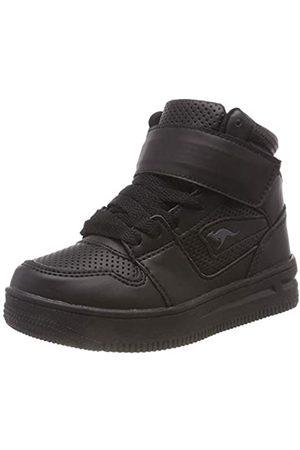 KangaROOS Unisex-Kinder Future-Space Hi Hohe Sneaker, (Jet Black 5001)