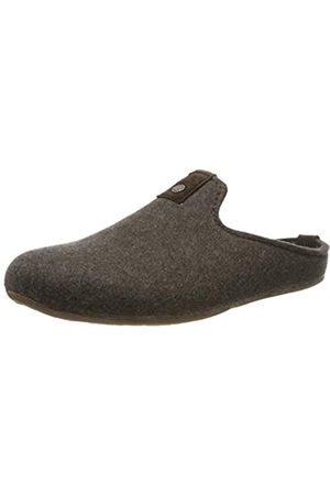 Haflinger Unisex-Erwachsene Lykke Pantoffeln, (braunmeliert 63)
