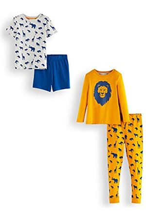 RED WAGON Amazon-Marke: Jungen Pyjama-Set aus Baumwolle, 2er-Pack, 140