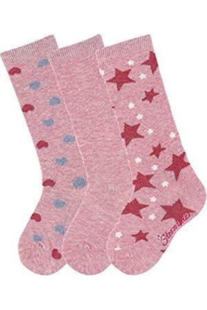 Sterntaler Mädchen Socken Kniestrümpfe 3er-pack Herzen