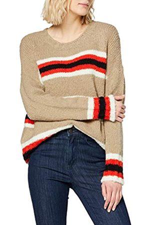 Herrlicher Damen Karina Wool Mix Stripes Pullover