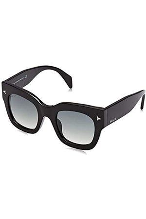 Bally Damen BY0006-H Sonnenbrille, (Shiny Black/Gradient Smoke)