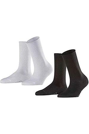 Falke Damen Socken Shiny 2-Pack - Viskosemischung, 2 Paar