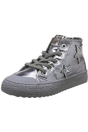 victoria Unisex-Kinder Tribu Metal Estrellas Sneaker, (Antracita 16)