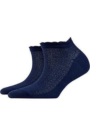 Burlington Damen Sneakersocken Montrose - Baumwollmischung, 1 Paar
