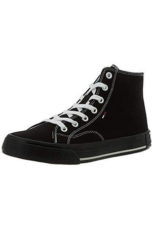 Tommy Hilfiger Damen Midcut Essential Sneaker, (Black Bds)