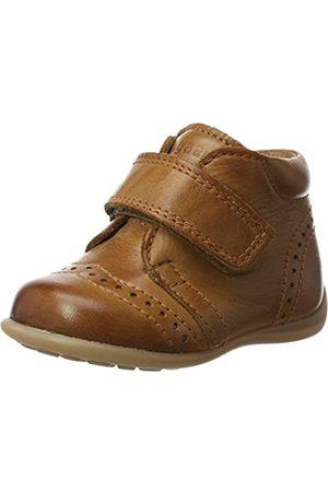 Bisgaard Unisex-Kinder Krabbelschuhe Pantoffeln, (66 Cognac)