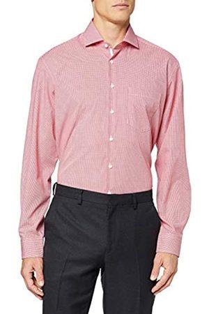 Seidensticker Herren Kariertes Hemd Mit Kent-Kragen Und Einem Hohen Comfort Fit - Langarm Businesshemd
