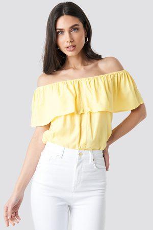 Sparkz Tara Top - Yellow
