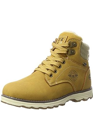 Dockers Unisex-Kinder 41TE702 Combat Boots, (Golden Tan 910)