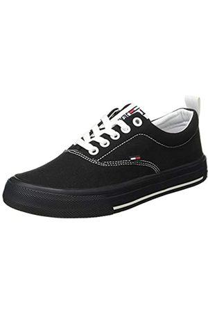 Tommy Hilfiger Damen LowCut Essential Sneaker, (Black Bds)