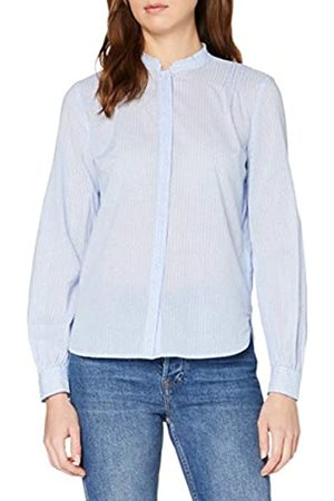 Marc O' Polo Damen M01149142163 Bluse, (Multi/Light Blue B18)