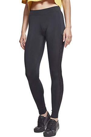 Urban classics Damen Ladies Jacquard Camo Striped Leggings