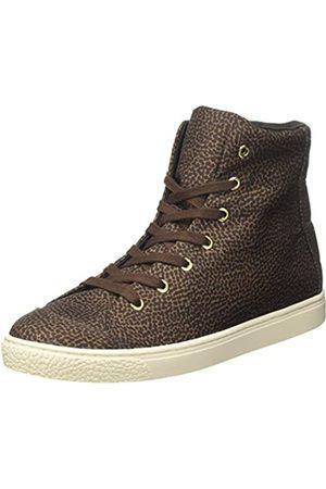 Borbonese Damen Sneakers ALTA Hohe Sneaker, (Tundra F63)