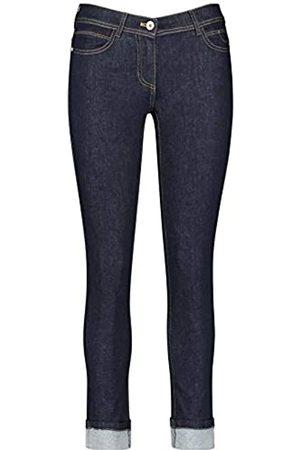 Taifun Damen Jeans Mit Saumaufschlag Skinny Ts Skinny 42