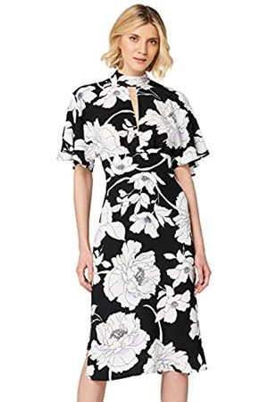 TRUTH & FABLE Amazon-Marke: Keyhole Midi Dress Partykleid, 34
