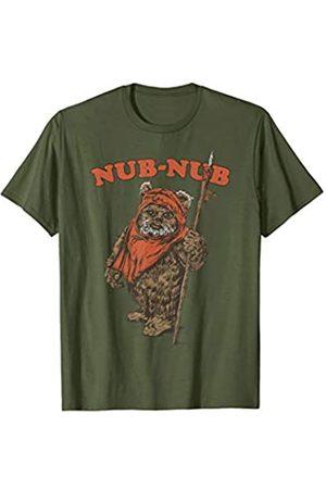 STAR WARS Ewok Nub Nub Text Portrait T-Shirt