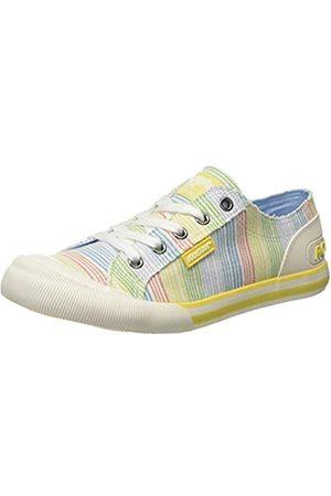 Rocket Dog Damen Jazzin Sneaker, Mehrfarbig (Ravi Yellow P21)