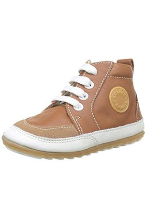 Robeez Unisex Baby Migo Sneaker, (Camel 114)